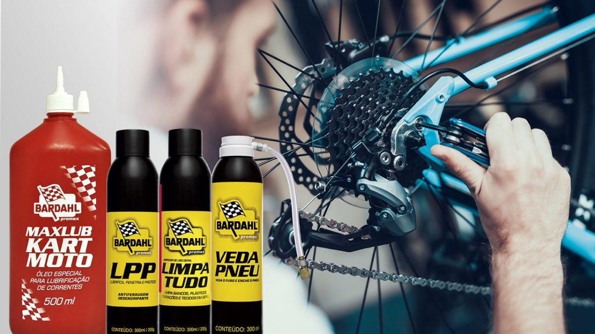 Produtos para bike coronavírus