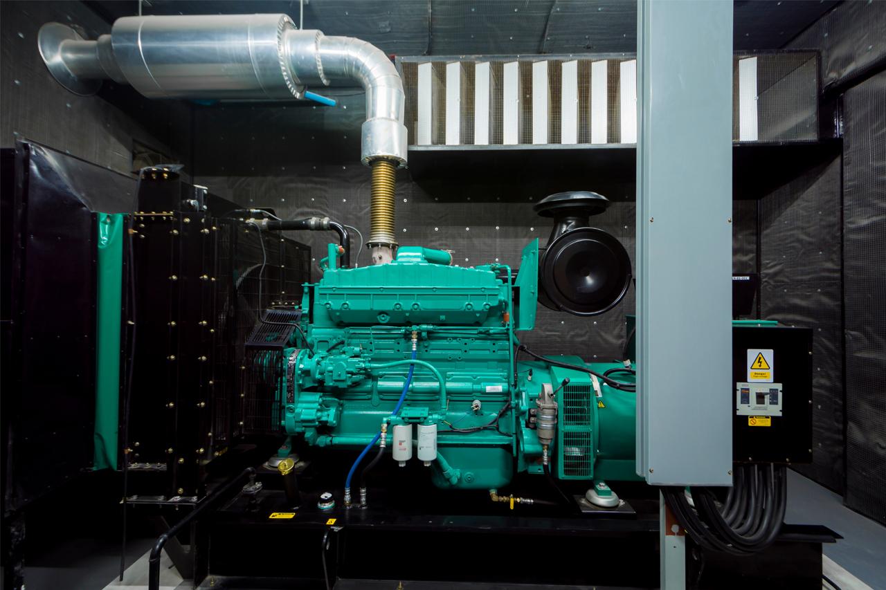 Gerador de energia à diesel