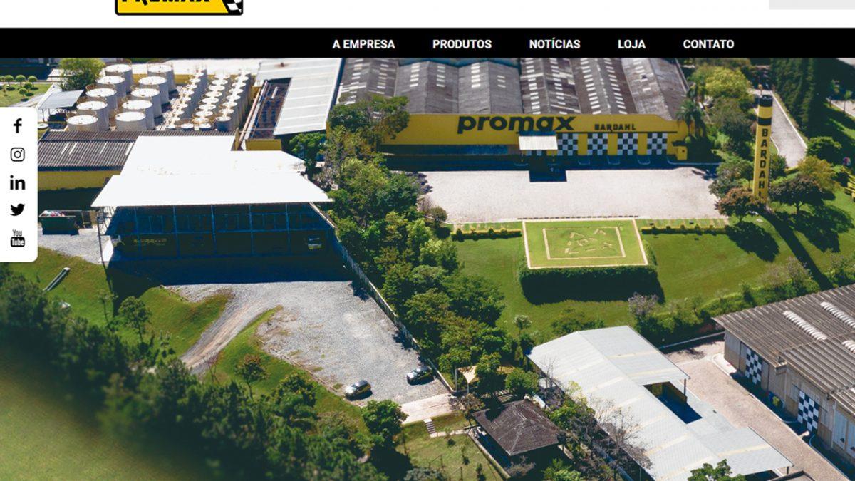 Novo site Promax Bardahl