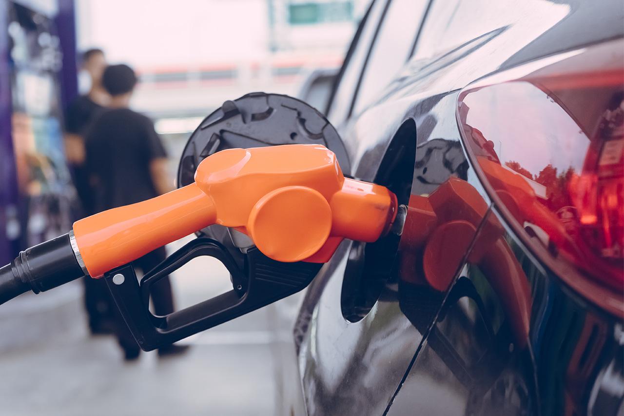 Abastecimento de carro flex