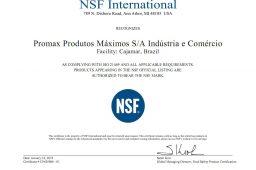 Promax Bardahl conquista certificação NSF